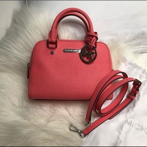 SALE | BN Michael Kors Small Pink Satchel Bag